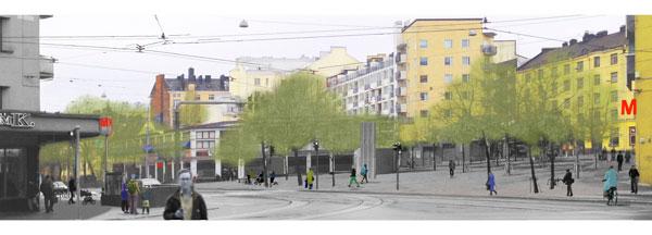 Helsinginkadun 3 aukiota | Vaasanaukio
