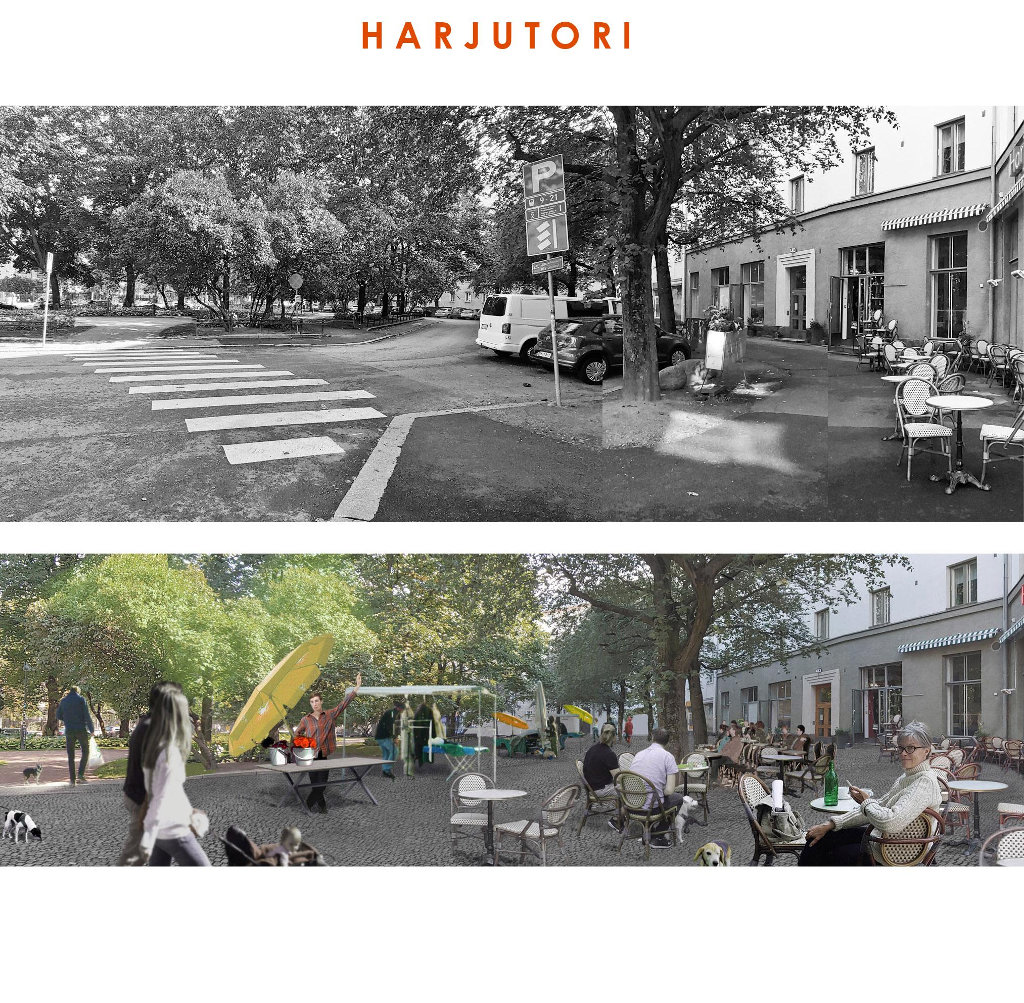Helsingin Harjutori voisi olla kaupunkikeidas